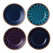 Wedgwood Byzance Accent Bread & Butter Plates / Set 4