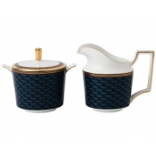 Wedgwood Byzance Cream & Sugar Set