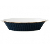 Wedgwood Byzance Oval Serving Bowl - 13.4""