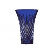 Waterford Araglin Flared Blue Vase - 8""