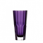 Waterford Jeff Leatham Amethyst Icon Vase - 10""