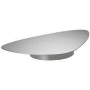 Ercuis Nuages Silver Plate Large Pedestal Server