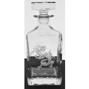 Dragon Clear Whiskey Decanter