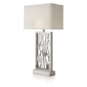 Michael Aram Lily Pad Table Lamp - Silvertone