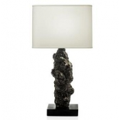 Michael Aram Meteorite Table Lamp - Black Nickleplate