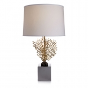Michael Aram Fan Coral Table Lamp