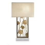 Michael Aram Lily Pad Table Lamp - Brass