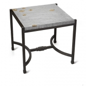 Michael Aram Fallen Leaves Squarer Side Table - Bnp