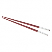Christofle Uni Red Japanese Chopsticks