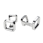 Christofle Carre Cuff Links