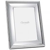 Christofle Perles Silverplate Frame -  5 x 7