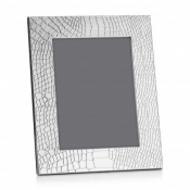 Christofle Croco D'Argent Silverplate Frame - 4 x 6