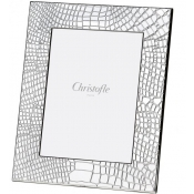 Christofle Croco D'Argent Frame Silverplate  - 5 x 7