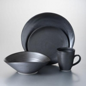 Barre - Slate 4 Piece Place Setting w/Pasta Bowl