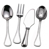 Le Perle Stainless 4 Piece Hostess Set