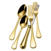 Couzon Le Perle Gold Plated - 5 Piece Setting