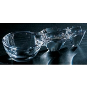 L'Oxygenateur Crystal & Cigar Ashtray