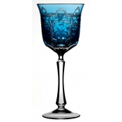 Imperial Sky Blue Water Goblet