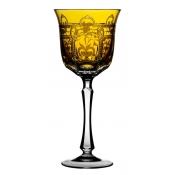 Imperial Amber Water Goblet
