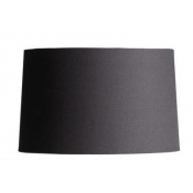 Barrel Shade - Gray Linen