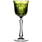 Imperial Yellow/Green Water Goblet