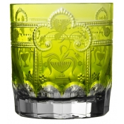 Imperial Yellow/Green Double Old Fashioned