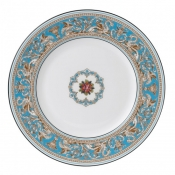 Wedgwood Florentine Turquoise Dinner Plate - 10.75""