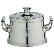 Orient Express Sugar Bowl w/ Applied Border
