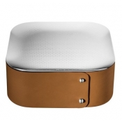 Christofle Collection Club Trinket Box / Camel Leather