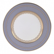 Wedgwood Anthemion Blue Dinner Plate - 10.75""