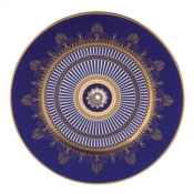 Wedgwood Anthemion Blue Salad Plate - 8""