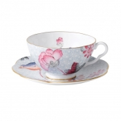 Teacup & Saucer Set / Blue