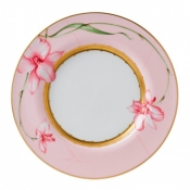 Wedgwood Orchid Pink Rim Dinner Plate - 11""