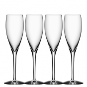 Orrefors More Champagne - Set of 4
