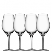 Orrefors More Wine - Set of 4