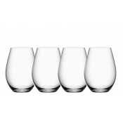 Orrefors More Stemless Wine - Set of 4