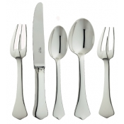 Brantome Silverplate 5 Piece Setting