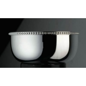 Perles Finger Bowl with Applied Border
