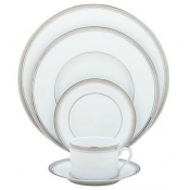 Excellence Grey  5 Piece Place Setting  *