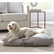 Sferra Lettino Dog Bed - Medium / Natural