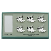 Maple Leaves Name Card Holders