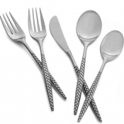 Nambe Braid 60 Piece Set - Service for 12