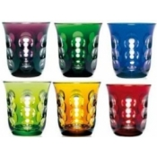 Goblets Box of 6 Mixed colors