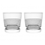 Christofle Jardin D'Eden Double Old Fashion Glass  - Pair