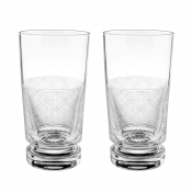 Christofle Jardin D'Eden Highball Glass - Pair