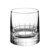 Christofle Graphik Old Fashion Glass - Pair