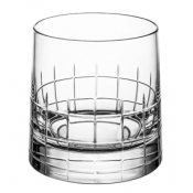 Christofle Graphik Double Old Fashion Glass - Pair