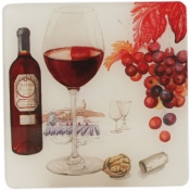 Wine Acrylic Coasters - Set 6