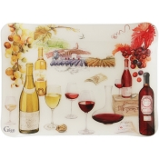 Wine Acrylic Serving Tray - Small