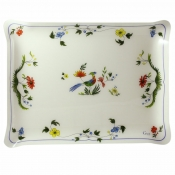 Oiseaux De Paradis Acrylic Serving Tray Large